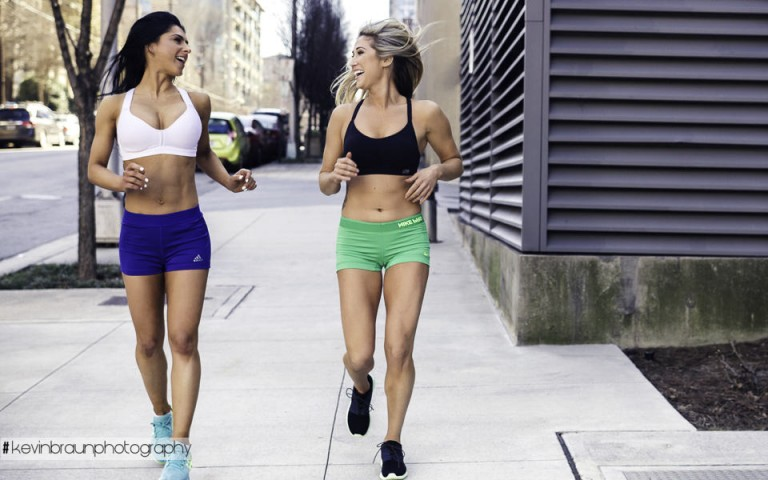 Nike Pro and Adidas Running